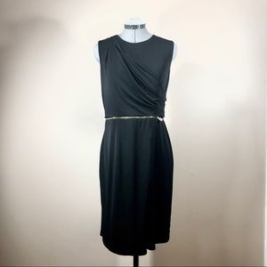 Vince Camuto Drape and Zip Dress